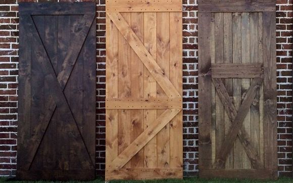 The Barn Door Collection By Rustic Modern Handcrafted Furniture In