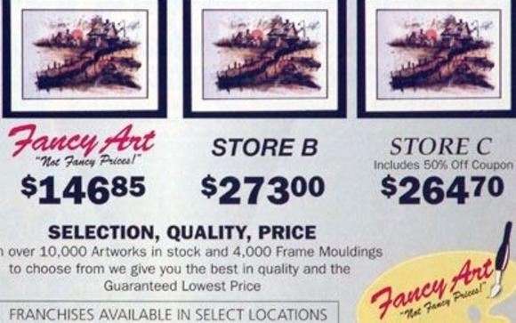 Art & Custom Framing Gallery by Fancy Art, NFP in Barrington, IL ...