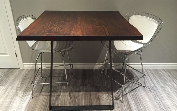 We Also Offer Custom Wood Tables And Table Tops And Sell A Selection Of  Steel Table Legs And Bases ...