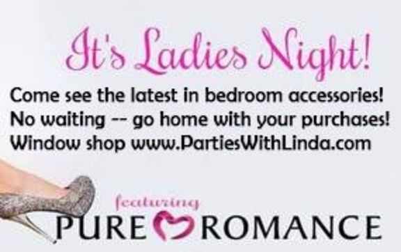 plan your ladies night out by pure romance by linda koontz in fort