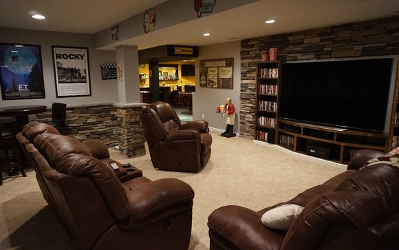 Basement Remodeling Baltimore Model Interior basementsbearded builders, baltimore in parkville area - alignable