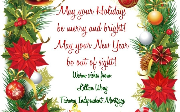 Seasons greetings from the fairway family to yours by lillian wong we want to take this time to wish you and your family all the blessings of the season and may your holiday be filled with the warmth of family and friends m4hsunfo