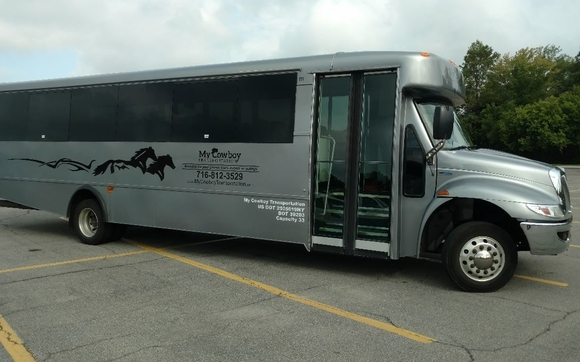 Charter Limo Bus Service Operating In New York State By My Cowboy