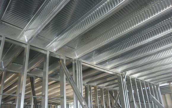 Ultrabond Long Span Composite Floor Deck By Steelform USA