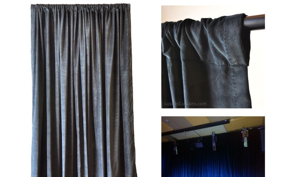 Expertly Crafted Luxury Cotton Velvet Curtains For Less Which Are Excellent Sound Reduction And Work Best Home Theater Rooms Nightclubs