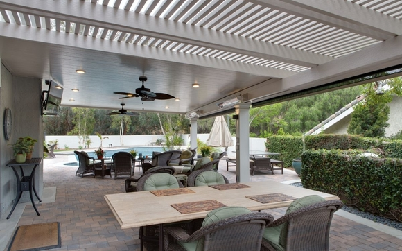 Custom Design And Installation Of The Four Seasons Elitewood Aluminum Patio  Covers. Including Open Lattice, Solid Insulated Covers, And The LifeRoom ...
