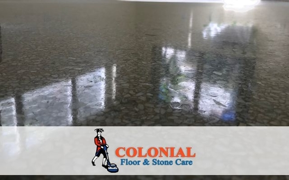 TERRAZZO FLOOR POLISHING By Colonial Floor And Stone Care Broward In - How to care for terrazzo floors