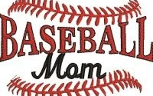 Baseball Mom Machine Embroidery Design By Stitched In Faith In