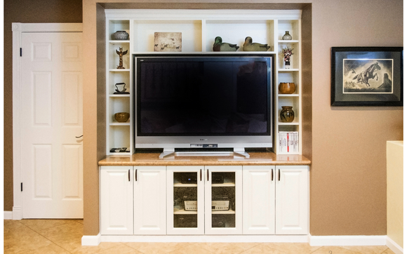1521570729 Custom Entertainment Center Sacramento Lincoln Roseville Granite  Bay The Closet Doctor %282%29