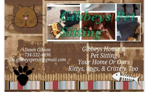 House Pet Sitting Rates By Gibbeys House Pet Sitting Service In