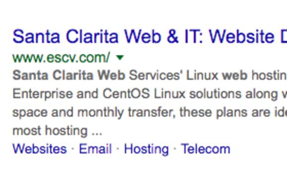 santa clarita website
