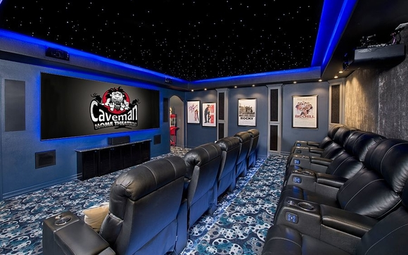 Caveman Home Theaters Provides Turn Key Services For Our Clients. Including  Project Design, Product Specification, Custom Installation And Service  After The ...