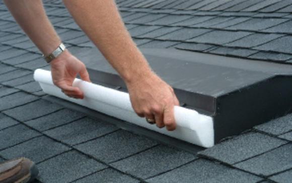 Hurriplug off ridge roof vent plug for hurricane for Off ridge vents