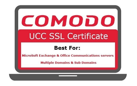 Comodo UCC SSL - Best to secure Exchange Severers, Domains, Sub ...