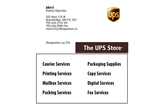 Business Cards Making By The Ups Store In Bracebridge Area Alignable