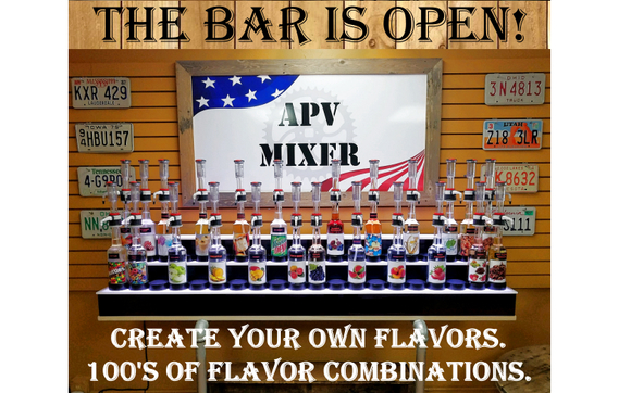 Do it yourself custom e liquid bar by american pure vapor in north 1531919204 the bar is open sw floridas only do it yourself custom solutioingenieria Gallery