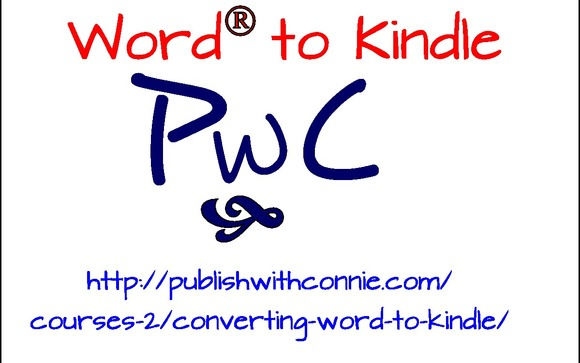 word to kindle mini course by publish with connie in franklin ma