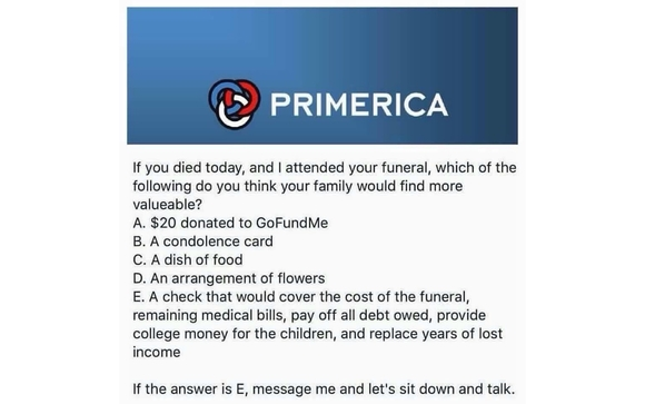 Life Insurance By Primerica Representative In Roseville CA Alignable Classy Primerica Life Insurance Quote
