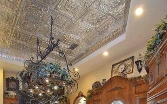 Decorative Faux Tin Ceiling Tiles & Wall Art by Deborah's ...