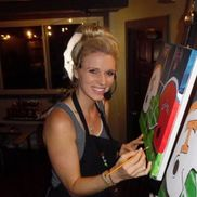 Heather Smith from Wine and Canvas Knoxville