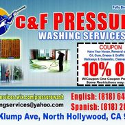 Jose Lopez from C&F pressure washing services