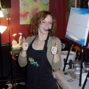 Kate Kolodi from Wine and Canvas Knoxville