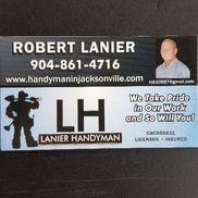 Robert Lanier from Robert Lanier Handyman Services