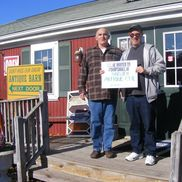 Pete and Steve vanEssylstyn and Arre from Harwich Antique Center