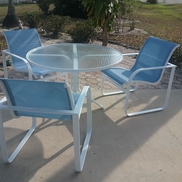 Eric Walker from Eric Walker patio furniture repair service