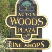 Acton Woods Plaza Shops from Acton Woods Plaza