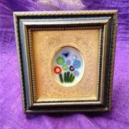 1449016735 periwinkle framed art piece