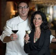 Chef and Sima Verzino from Marcellino Ristorante