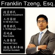 Franklin Tzeng from Franklin International Law Group