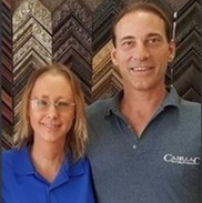 Jim & Brandy Gilliam from Cadillac Art & Frame | You Bring It - We Frame It!