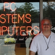 Chuck Sedano from PC Systems of Mo, Inc.