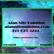 Alan Gum from Alan Nile Painting