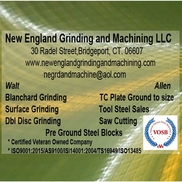 Allen Jacques from New England Grinding and Machining
